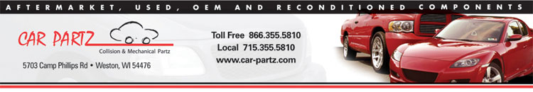 Car Partz specializes in aftermarket and replacement parts for cars and trucks, including cooling products, axles, differential parts, engines, motors and replacement radiators, lights and mirrors